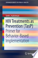 HIV Treatments as Prevention  TasP  Book