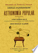 Astronomía Popular Camille Flammarion Josep Comas I Solà