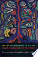 Milton and Questions of History