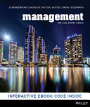 Cover of Management 6th Asia-Pacific Edition