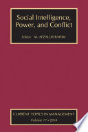 Social Intelligence Power And Conflict