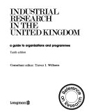 Industrial Research In The United Kingdom Book PDF