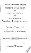 Annual Report Of The Dept Of Agriculture