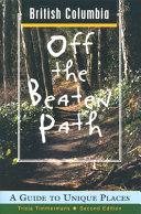 British Columbia Off the Beaten Path Book PDF
