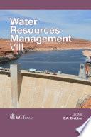Water Resources Management Viii Book PDF