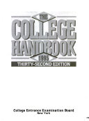 The College Handbook  1995