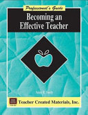 Becoming an Effective Teacher