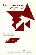 La linguistique cognitive Pdf/ePub eBook