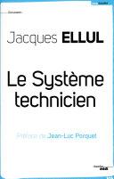 Le système technicien ebook