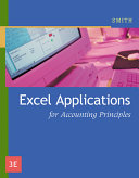 ExcelTM Applications for Accounting Principles