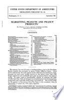 Marketing Peanuts and Peanut Products