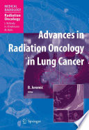 Advances In Radiation Oncology In Lung Cancer Book PDF