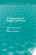 A Perspective Of Wages And Prices Routledge Revivals