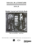 Voices in Literature Gold Student s Journal
