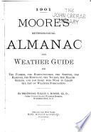 Moore's Meteorological Almanac and Weather Guide for the Farmer, ...