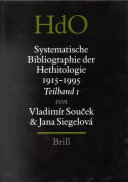 Systematische Bibliographie der Hethitologie 1915-1995, zusammengestellt unter Einschluss der einschlägigen Rezensionen (3 vols.)