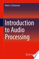 Introduction To Audio Processing Book PDF