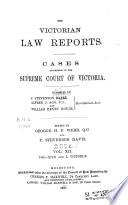 The Victorian Reports