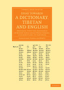 Essay Towards a Dictionary, Tibetan and English