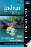 Indian States At A Glance 2008 09 Performance Facts And Figures Uttarakhand