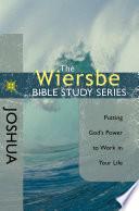 The Wiersbe Bible Study Series: Joshua