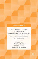 College Student Voices on Educational Reform Pdf/ePub eBook