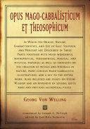 Opus Mago-Cabbalisticum Et Theosophicum