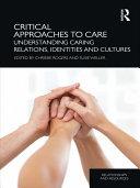 Critical Approaches to Care Pdf/ePub eBook