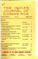 The Indian Journal of Commerce Book