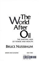 The World After Oil