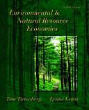 Environmental   Natural Resource Economics