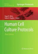 Human Cell Culture Protocols Book