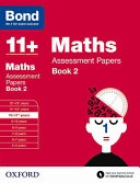 Bond 11+ Maths Assessment Papers 10-11+ Years
