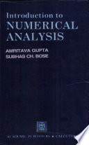 Introduction to Numerical Analysis Book
