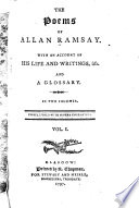 The Poems Of Alan Ramsay