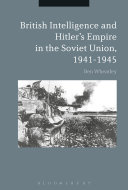 British Intelligence and Hitler's Empire in the Soviet Union, 1941-1945 Pdf/ePub eBook