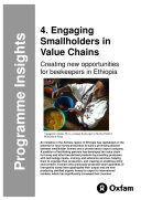 Engaging Smallholders in Value Chains  Creating new opportunities for beekeepers in Ethiopia