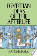 Egyptian Ideas of the Afterlife Book