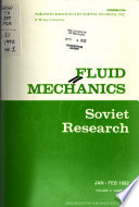 Fluid Mechanics: Soviet Research