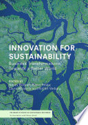 Innovation For Sustainability Book PDF