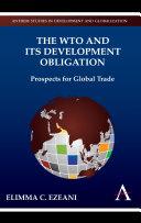 The WTO and its Development Obligation Pdf/ePub eBook