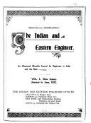 The Indian And Eastern Engineer