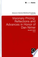 Visionary Pricing  : Reflections and Advances in Honor of Dan Nimer