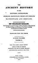 The Ancient History of the Egyptians, Carthaginians, Assyrians ...