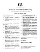 Journal of the Institute of Brewing