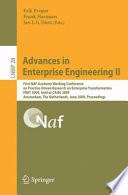Advances in Enterprise Engineering II Book