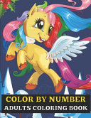 Color By Number Adults Coloring Book