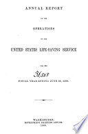 Annual Report of the United States Life saving Service for the Years 1880