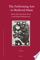 The Performing Arts in Medieval Islam Book