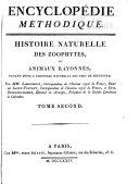 Encyclopedie methodique, ou par ordre de matières: Histoire naturelle